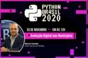 Diretor-executivo irá apresentar o Interlegis no evento de tecnologia Python Brasil 2020