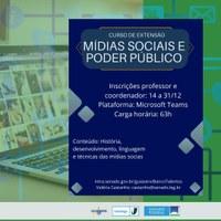 Escola de Governo abre seleção de corpo docente para curso sobre mídias sociais