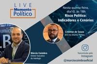 Indicadores e Cenários do Risco Político serão analisados em Live com o Diretor Executivo do Interlegis