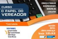 """Interlegis abre inscrições para a quinta turma do curso """"O Papel do  Vereador"""""""