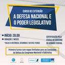 Interlegis e Escola Superior de Guerra lançam curso sobre Defesa Nacional e o Poder Legislativo