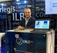 Interlegis demonstrou produtos e serviços na conferência da UNALE