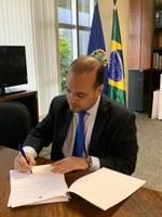 Interlegis e AGU assinam Acordo de Cooperação Técnica