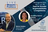 Interlegis irá celebrar o Dia Nacional do Vereador com Live especial nesta quinta-feira