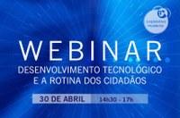 """Interlegis promove, nesta quinta-feira (30), o Webinar """"Desenvolvimento Tecnológico e a Rotina dos Cidadãos"""""""