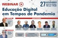 Interlegis promove Webinar sobre educação digital