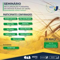 Interlegis realiza seminário sobre Regularização Fundiária