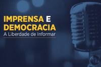 Jornalistas internacionais falam sobre liberdade de imprensa em webinar do Interlegis