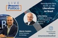 """Liberalismo no Brasil é tema de série """"Momento Político"""" pelo Instagram"""