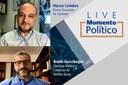 Live com o diretor-executivo do Interlegis debateu conceitos da teoria política