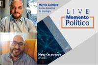 Live Momento Político destaca importância da imprensa livre e profissional para a democracia