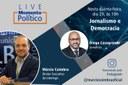 Live Momento Político: diretor-executivo do Interlegis conversa sobre Jornalismo e Democracia
