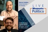 Novas regras para as eleições municipais foram tema da Live Momento Político