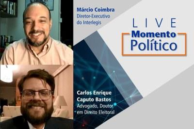 O advogado Carlos Enrique Caputo Bastos falou sobre a confiabilidade das urnas e as alterações legislativas nas regras eleitorais.