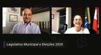 Política e democracia foram debatidas em Live da Escola do Legislativo da Alesc com o Interlegis
