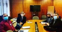 Presidente da Câmara Municipal de Formiga (MG) visita Interlegis