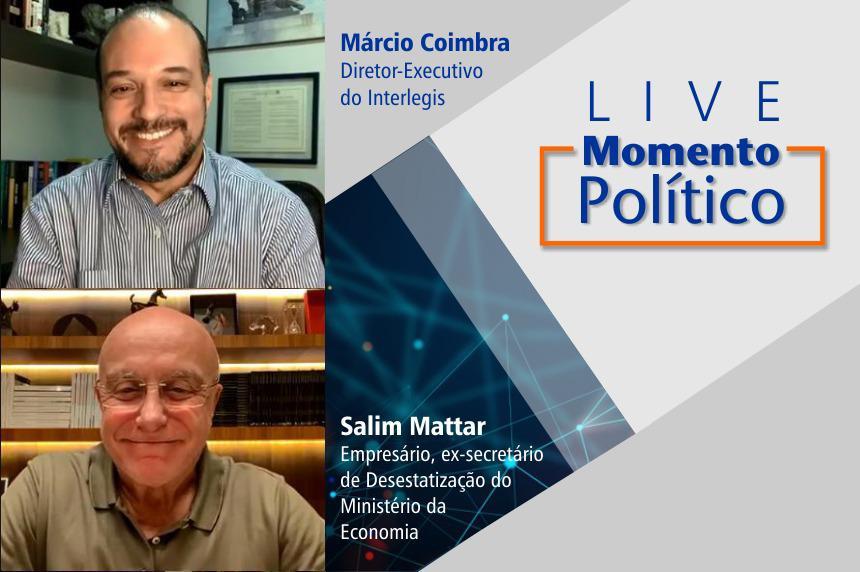 Salim Mattar participa de Live com diretor do Interlegis sobre Liberalismo no Brasil