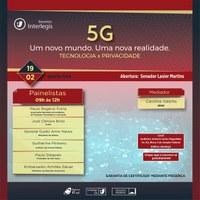 Tecnologia 5G é tema de debate no Encontro Interlegis