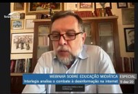 Webinar Interlegis Educação Midiática reuniu especialistas nas áreas de educação, cultura e comunicação para tratar sobre o uso saudável da tecnologia
