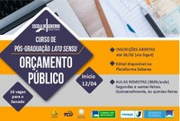 Escola de Governo do Senado abre inscrições para pós-graduação em Orçamento Público