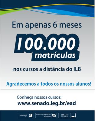 100.000 matrículas