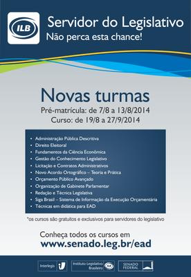 EAD com tutoria - Turma 2/2014