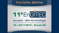Link de inscrição para o 11º EnGITEC